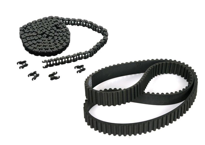 Chain and transmission belt