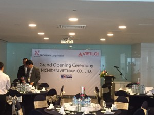 Lễ khai trương Nichiden Việt Nam