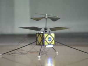 NASA developing robotic helicopter scout for Mars rovers
