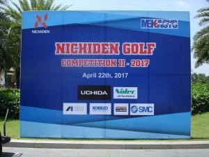Thư cám ơn các đối tác đã tham dự giải Nichiden Golf thường niên 2017