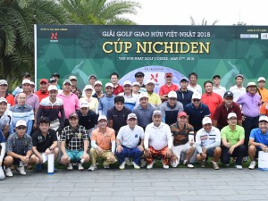 THANK YOU LETTER FOR THE VIET NAM – JAPAN FRIENDSHIP GOLF TOURNAMENT 2018 – NICHIDEN TROPHY