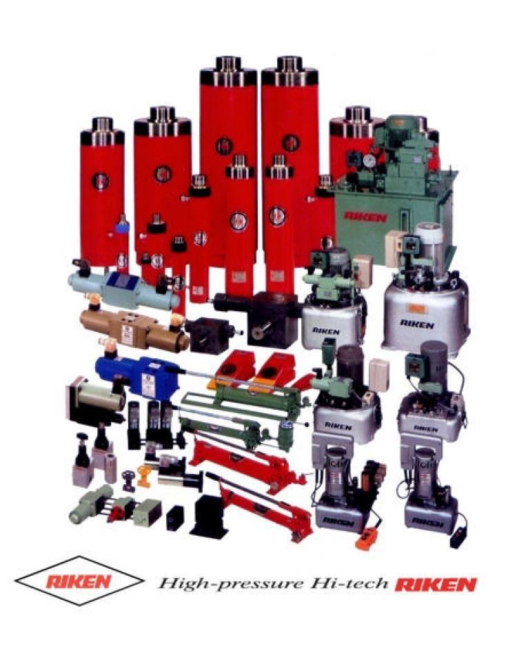 RIKEN KIKI high pressure hydraulic equipment